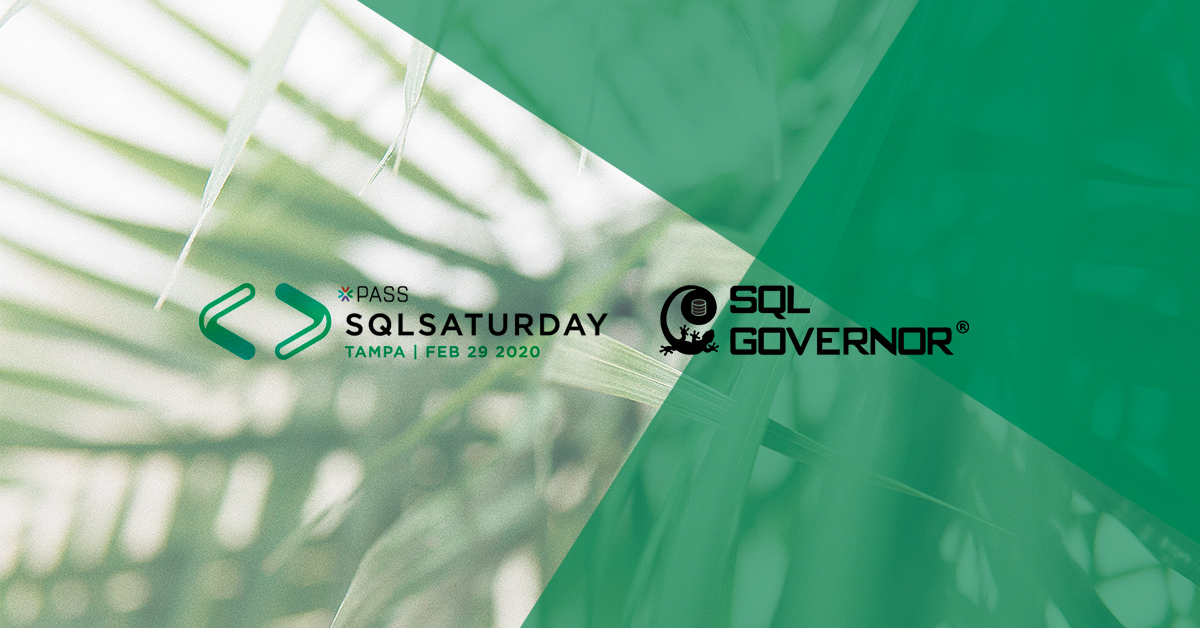 Meet us at SQL Saturday Tampa on 29th February