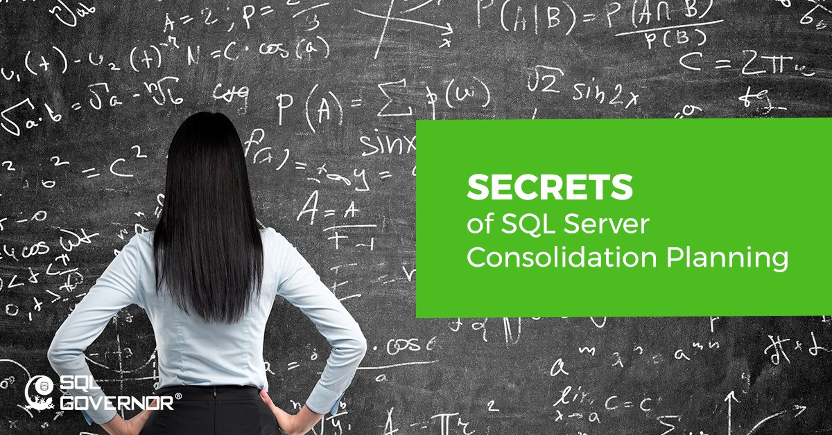 Mastering Microsoft SQL Server Consolidation Planning