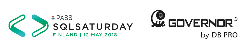 Meet us at the SQLSaturday Finland on 12 May 2018