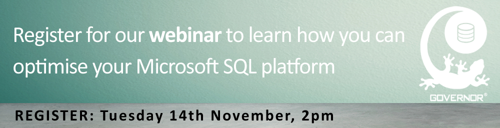Webinar Nov 14: Microsoft SQL Server Optimization